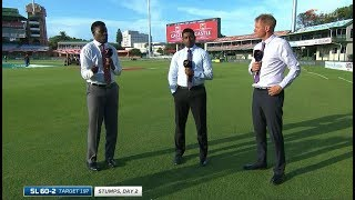 South Africa vs Sri Lanka | 2nd Test | Day 2 Wrap