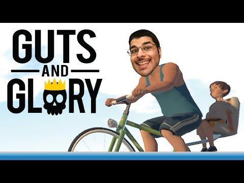 دراجة الموت و حنان الأب! نلعب Guts and Glory