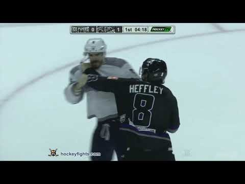 Colton Heffley vs. Travis Armstrong