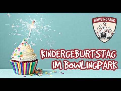 Kindergeburtstag im Bowlingpark Westside