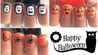 Halloween Nail Art Tutorial | Three Designs!