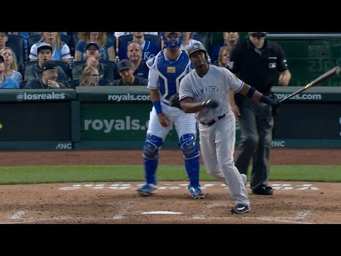 5/16/17: Sanchez powers Yankees to win over Royals