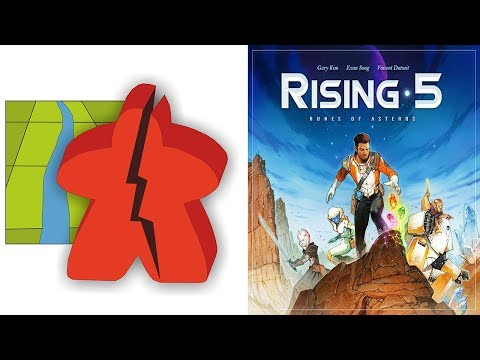 The Broken Meeple - Rising 5 Review