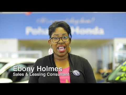 Sales & Leasing Consultant Ebony Holmes