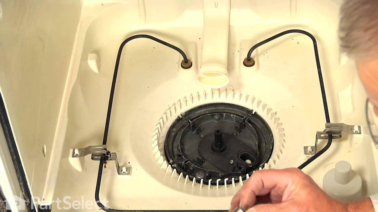 Replacing your Kenmore Dishwasher Drain and Wash Impeller Kit