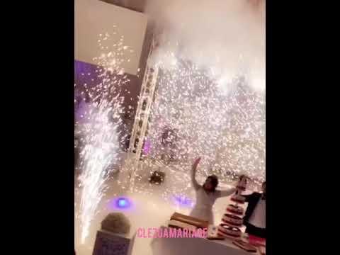 Mariage Algérien Marocain Cascade feu d'artifice