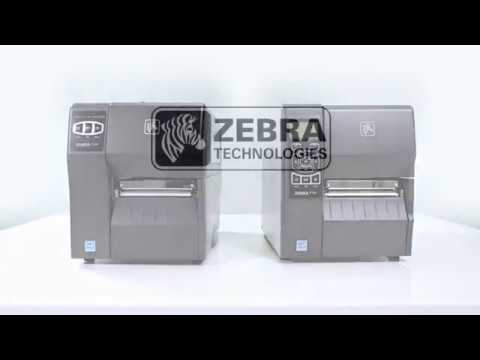 Zebra ZT220 Barcode Label Printer - High Performance video thumbnail