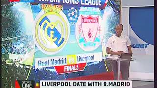 Real Madrid takes on Liverpool FC | KTN News Scoreline