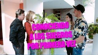 CONOCIENDO A LOS SUEGROS POR PRIMERA VEZ! M&H TV