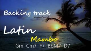 LATIN MAMBO IN G BACKING TRACK, FOR PRACTICE AND SOLO IMPROVISATION