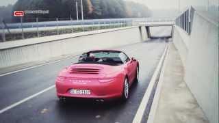 Porsche 911 Carrera 4S Cabrio sound!