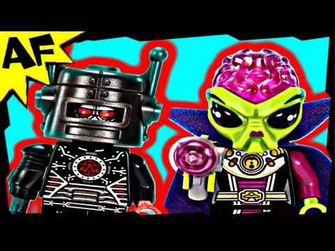 Vidéo LEGO Minifigures 8833 : Série 8