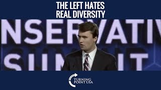 Charlie Kirk: The Left Hates The Idea That There Are Other Ideas