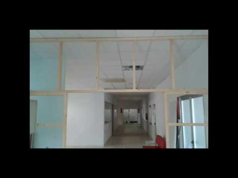 Como hacer una pared con tableros lacados en blanco