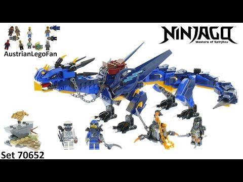 Vidéo LEGO Ninjago 70652 : Le dragon Stormbringer