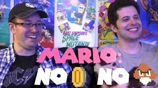 Mario: No Coins, No Enemies challenge - James & Mike Mondays