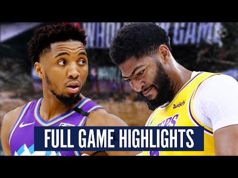 UTAH JAZZ vs LA LAKERS – FULL GAME HIGHLIGHTS | 2019-2020 NBA Season
