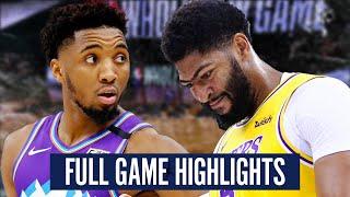 UTAH JAZZ vs LA LAKERS - FULL GAME HIGHLIGHTS | 2019-2020 NBA Season