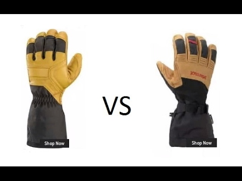 Black Diamond vs Marmot Ultimate Ski Glove