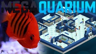 Megaquarium - Redesigning This Ugly Aquarium - New Fish Friends! - Megaquarium Gameplay