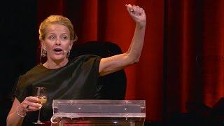 "Prinses Mabel-Indrukwekkende Speech Amsterdam-Diner 2015  ""Leve Het Leven!"""