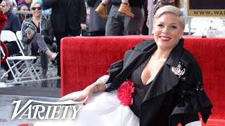 P!NK   Hollywood Walk Of Fame Ceremony   Live Stream