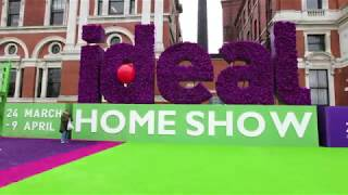 Ideal Home Show Preview: 17 March – 2 April 2018