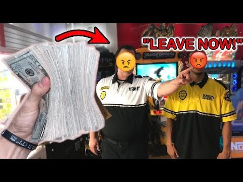 ARRESTED for WINNING CASH at MONEY KEY MASTER ARCADE GAME!! | JOYSTICK