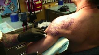 The Eagle Has Landed. The Making Of A Great Tattoo.