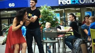 Domestic Abuse In Public! (Social Experiment)