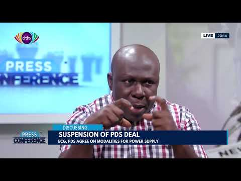 Ghana Manganese shutdown, suspension of PDS deal - Press Conference