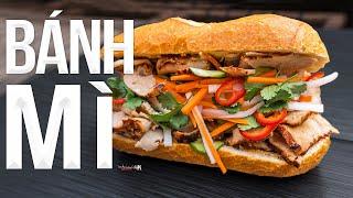 Ultimate Vietnamese Banh Mi Sandwich Recipe   SAM THE COOKING GUY 4K