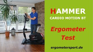 Ergometer Test: Hammer Cardio Motion BT #ergometertest