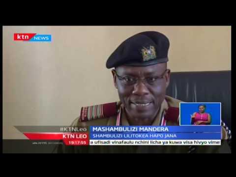 Askari auwawa kutokana na shambulizi kwa nyumba ya naibu wa gavana kaunti ya Mandera Omar Mohamed