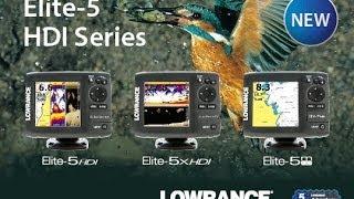 Эхолоты lowrance elite 5x hdi