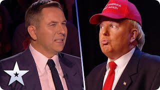Donald Trump in SPARKLY HEELS? Only on the BGT stage... | BGT 2020