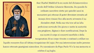 San Charbel: Come Si Prega La Sua Coroncina