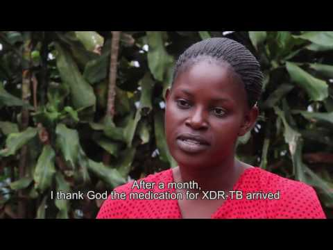 Video First XDR-TB patient successfully completes treatment in Kenya