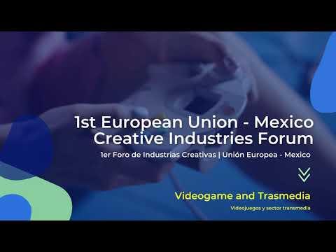 Clausura del 1er Foro de Industrias Creativas Unión Europea-México