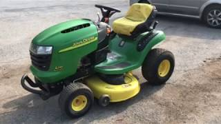 How to operate a John Deere L110 Tractor