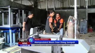 NET17 - Pengusaha daur ulang sampah asal Bekasi meraup ratusan juta tiap bulan