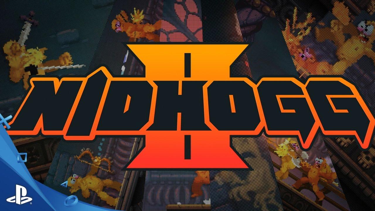 Alberne & brutale Kämpfe warten in Nidhogg 2, das nächstes Jahr für PS4 erscheint