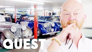 Drew Views Rodger Dudding's £40M Classic Car Collection | Salvage Hunters: Classic Cars