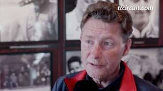 Ronald ten Kate voorafgaand de Acerbis Dutch Round