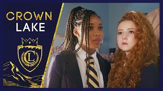 """After the Scavenger Hunt debacle, Nellie returns to Crown Lake with a vengeance.   SUBSCRIBE: https://brat.tv/BratSub  WATCH MORE CROWN LAKE https://brat.tv/CrownLake_Season1  ABOUT CROWN LAKE When Eleanor """"Nellie"""" Chambers shows up at Crown Lake Academy, a fancy all-girls boarding school, she knows this school is her ticket to a new & better life. But she also knows fitting in and learning the ropes isn't going to be easy. Until she finds a guide.   CROWN LAKE 