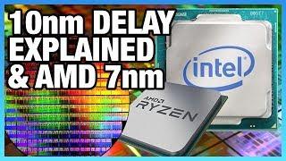 "Intel 10nm Delay Explained & AMD's ""7nm"" | Ft. David Kanter"