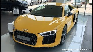 Audi R8 V10 Plus Coupé 2017 | Real-life review