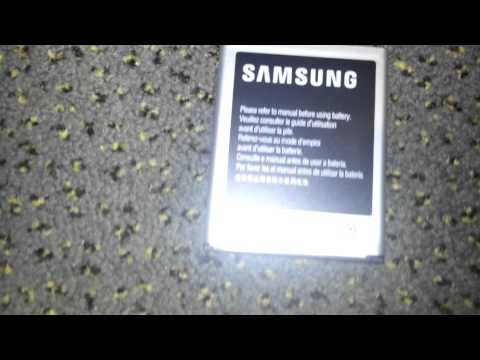 Unboxing: Samsung Galaxy S3 Battery