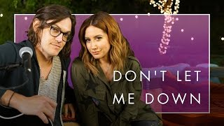 Don't Let Me Down - Chainsmokers Cover | Music Sessions