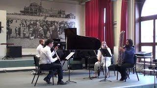 """Martino """"Triple Concerto"""" (exrpts); Vermeersch, Watts, Alder, Vandenberge"""